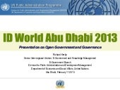 Abu dhabi id world 2013 - citizen a...