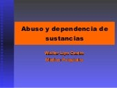 Abuso Y Dependencia De Sustancias Um
