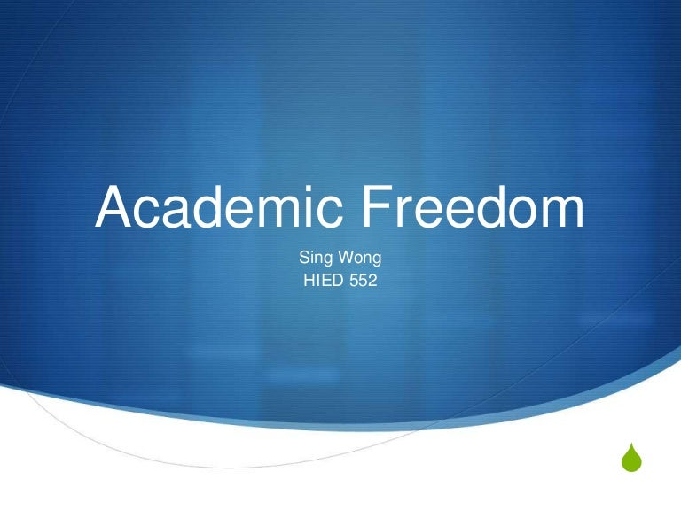 Essay question! How does education affect freedom?