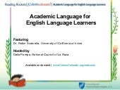 Academic language for Secondary