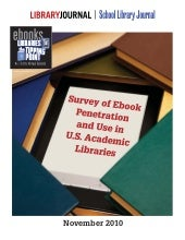 Academic library ebook report 2010