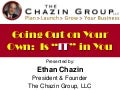A career in_entrepreneurship_ethan_chazin_31oct2013