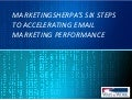 Accelerating Email Marketing Performance