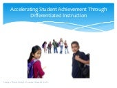 Accelerating student achievement th...