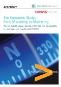 The Consumer Study: From Marketing to Mattering, Generating Business Value by Meeting the Expectations of 21st Century People