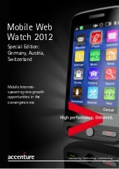 Tablets adoption and Mobile Web Usa...