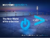 The New World of As a Service