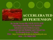 Accerlerated hypertension
