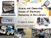 Access and Ownership Issues of Elec...