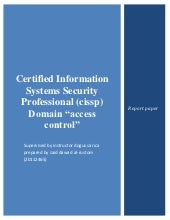 Certified Information Systems Secur...