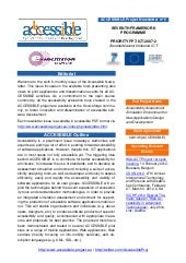 ACCESSIBLE newsletter n° 6