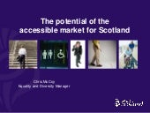 Accessible tourism in scotland