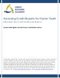 Accessing Credit Reports for Foster Youth