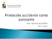 Accidente cortopunzantes