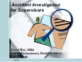 Accident Investigation Training- Sa...
