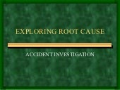 Accidentrootcauseinvestigationprese...