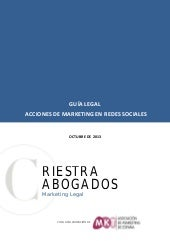 Guía Legal de Acciones de Marketing...
