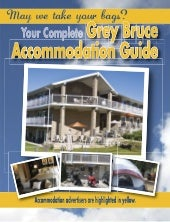 Grey Bruce Accommodation Guide 2013
