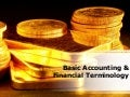 Accounting Terminology PowerPoint Presentation
