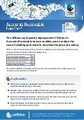 Accounts receivable in the cloud as a SaaS offering