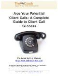 Ace Your Potential Client Calls PREVIEW