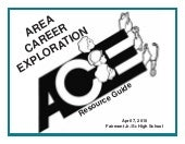 2010 Area Career Exploration Resour...