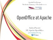 OpenOffice at Apache