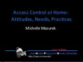 Access Control for Home Data Sharin...