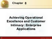 Achieving operational excellence an...