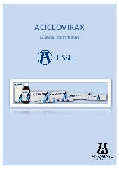 Manual de Estudio Aciclovirax.