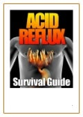 Acid Reflux Survival Guide from Traverse Bay Farms