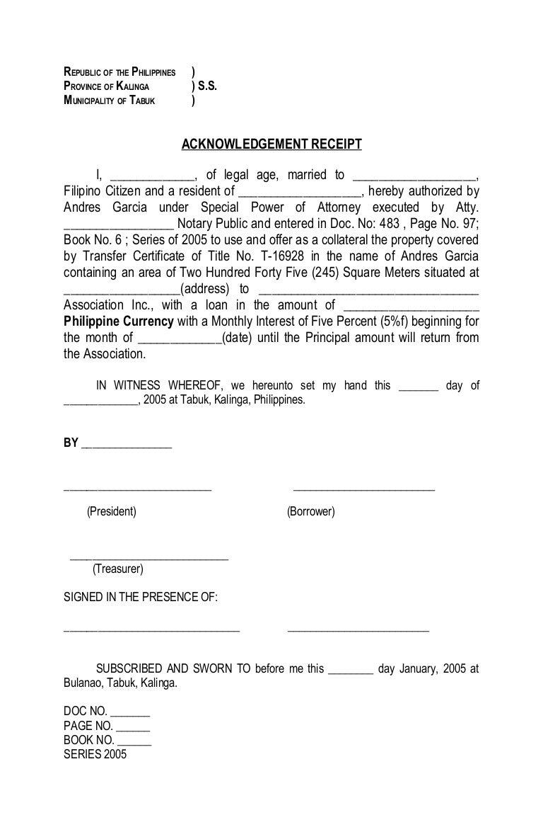 Doc522673 Receipt of Payment Letter Cash Payment Receipt – Legal Receipt of Payment