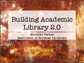 Building Academic Library 2.0 - Ass...