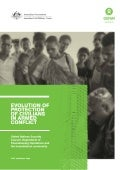 Evolution of protection of civilians in armed conflict