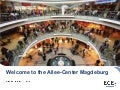 Presentation of Allee-Center Magdeburg