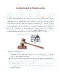 A complete guide on property auction