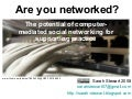 Web 2.0 & social networking for supporting practice