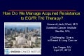 Acquired resistance to EGFR TKIs in Lung Cancer (NSCLC)