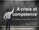 The Skills Gap: A Crisis or Competence?