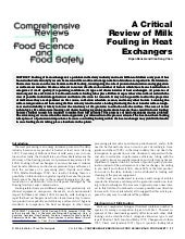 A critical review of milk fouling i...
