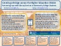 Acrl 2011 poster Presentation; Creating a Bridge across the Higher Education Divide: Partnering to provide Library Services: