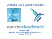 CloudStack, jclouds and Whirr!