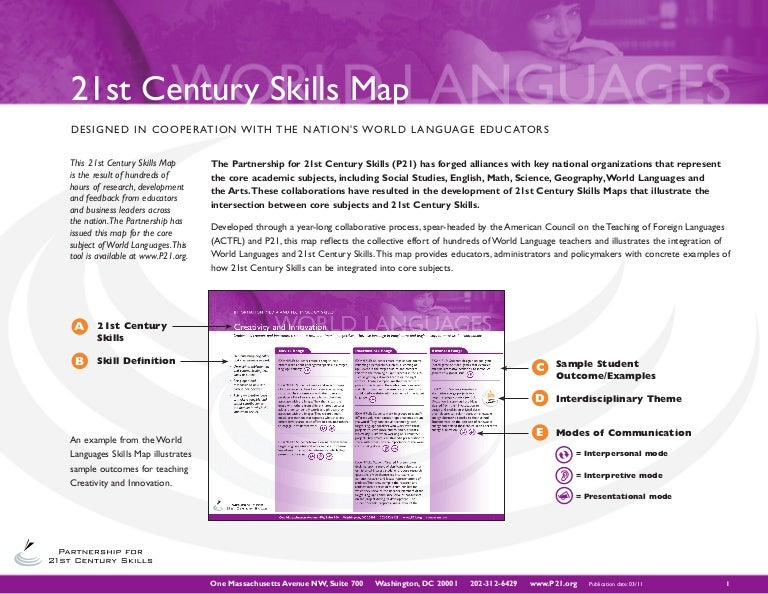 Actfl world language 21st century skills map pdf document 6059522 national standards for language learning and 21st century gumiabroncs Image collections