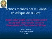 GIABA AML/CFT initiatives (french)
