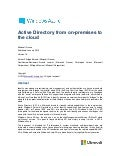 Active directory-from-on-premises-to-the-cloud