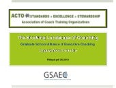 Acto Gsaec Overview April 2012 Final