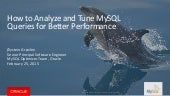 How to analyze and tune sql queries for better performance webinar