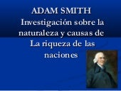 La riqueza de las naciones- Adam Smith