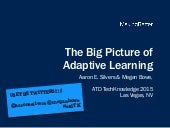 The Big Picture of Adaptive Learning
