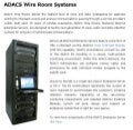 ADACS Wire Room Systems